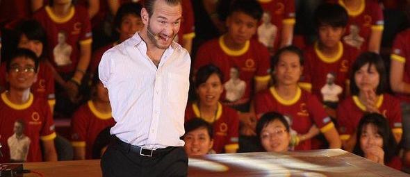 Nick Vujicic. (Foto: News.com.au)