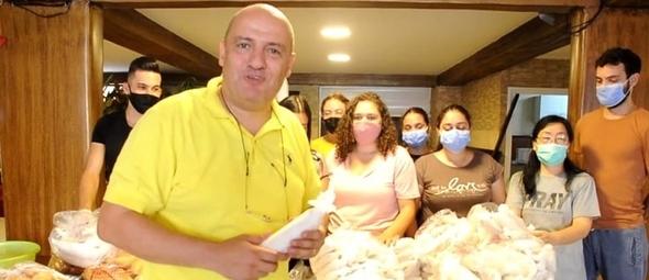 Pastor Said lidera o ministério Life Center Church, no Líbano. (Imagem: Life Center Church)