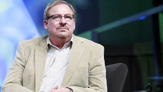 """Pastor Rick Warren é autor do famoso livro """"Uma Vida com Propósitos"""". (Foto: Saddleback Church)"""