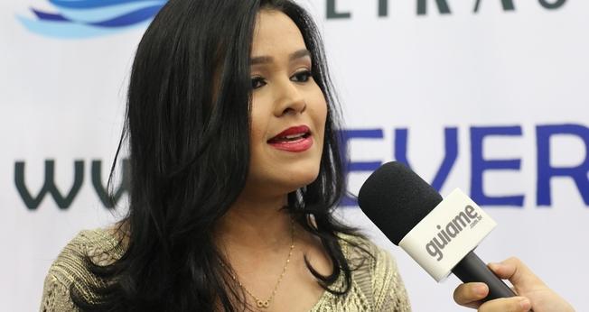 Idma Brito é de Tocantins e agora faz parte dos artistas contratados pela Sony Music Gospel. (Foto: Guiame/Marcos Paulo Corrêa).
