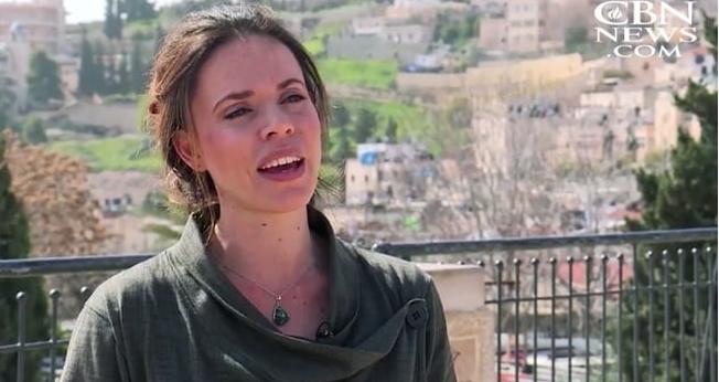 """Anarina Heymann atua como coordenadora de divulgação da """"Cidade de Davi"""". (Imagem: CBN News)"""