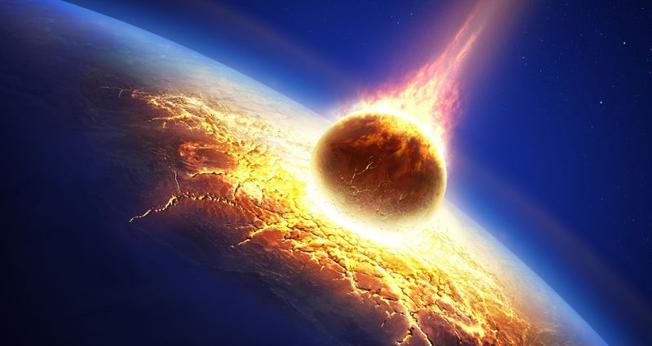 não conseguimos ver ontem um meteoro gigantesco se aproximando da terra a olho nu. (foto: Gizmodo)