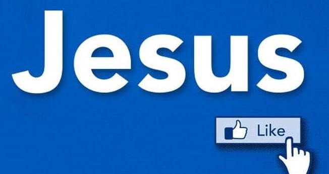 E se Jesus tivesse uma fanpage no Facebook?  (Foto: Lturgy)