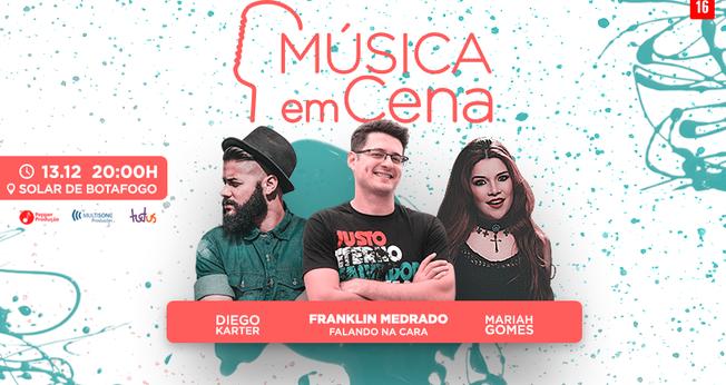 """urante o show, Diego irá apresentar covers e também canções de seu álbum """"Deus se faz Presente"""". (Foto: Divulgação)."""