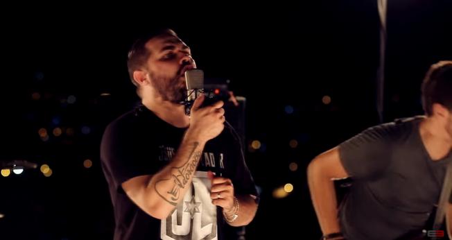 Ygor Oliveira é o vocalista da banda Eclesiastes 3. (Foto: Reprodução).