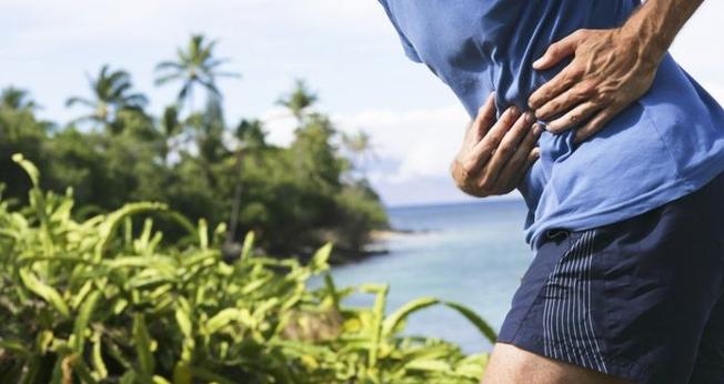 Quando a dor lateral surge, a única maneira de reduzi-la é suspendendo a atividade física. (Foto: Getty Images/BBC)