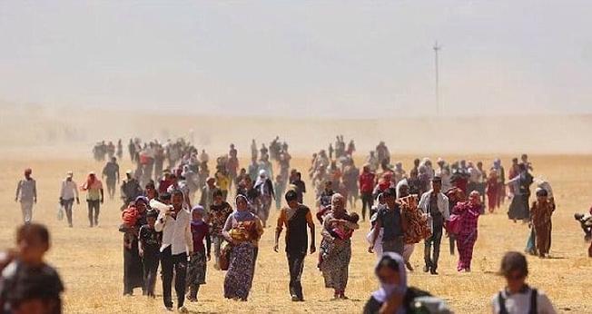 Milhares de cristãos fugiram do Iraque e Síria durante o domínio do Estado Islâmico. (Foto: Reprodução)