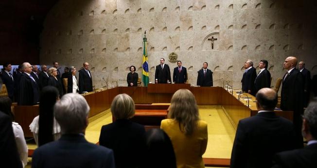 O Supremo Tribunal Federal (STF) realiza sessão solene de abertura do Ano Judiciário de 2019. (Foto: José Cruz/Agência Brasil)