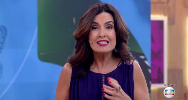 Fátima Bernardes é apresentadora do programa 'Encontro', na Rede Globo. (Imagem: Gshow)