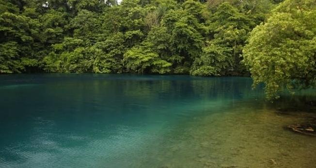 A Blue Lagoon (Lagoa Azul) é localizada em Port Antonio. (Foto: Andres Leighton/AP)