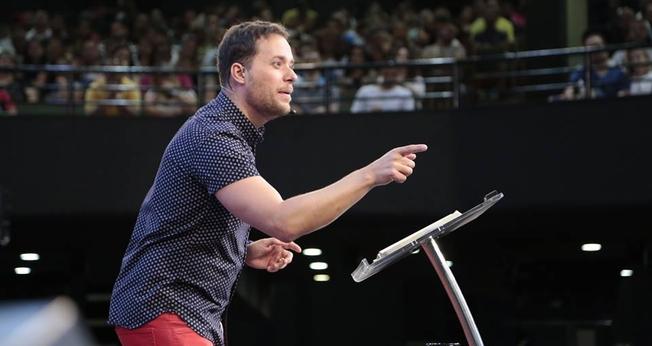 O pastor citou a tentação de Jesus como exemplo. (Foto: Lagoinha).