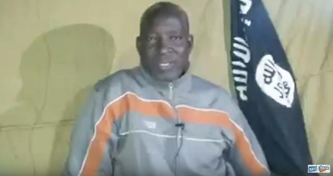 O pastor nigeriano Lawan Andimi foi sequestrado pelo Boko Haram em 3 de janeiro. (Foto: Reprodução)