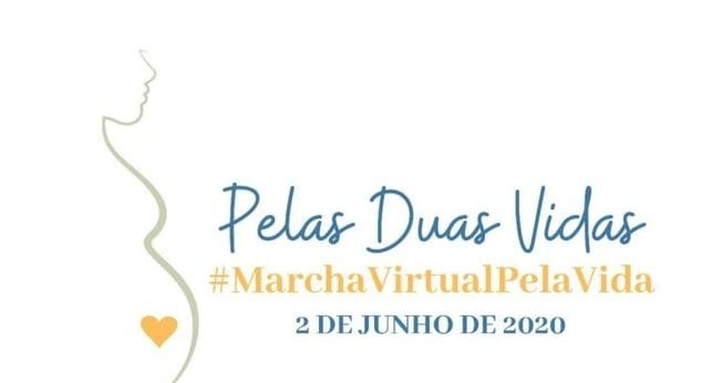 Banner da 13ª Marcha Nacional pela Vida. (Foto: Reprodução/Brasil sem Aborto)