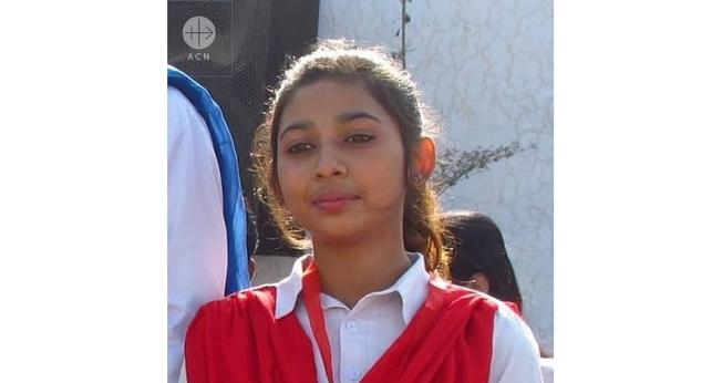 Maria Shahbaz foi sequestrada e forçada a se casar com seu raptor. (Foto: Ajuda à Igreja que Sofre)