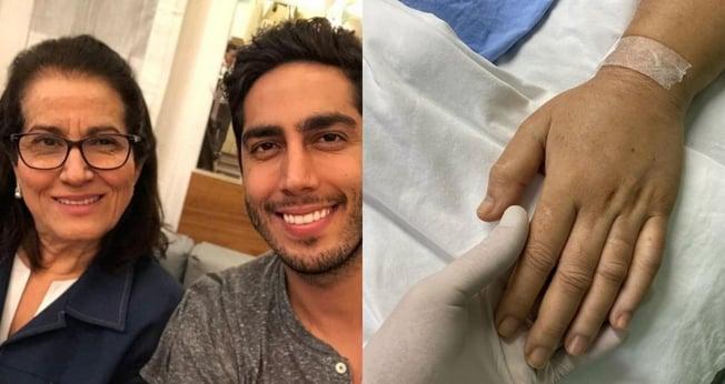 Sara Nemer superou a Covid-19, superbactéria e dois choques sépticos e está em reabilitação. (Foto: Reprodução/Instagram)