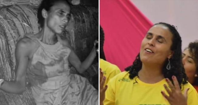 Naiara Anjos Sena foi resgatada por Deus através do projeto Cristolândia, da Junta de Missões Nacionais. (Foto: Reprodução/YouTube)