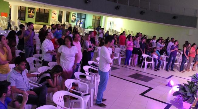 """Fabiano Alves participa do """"Plataforma Jovem"""", em Fortaleza (CE); veja as fotos"""