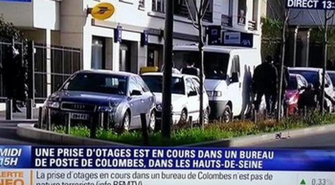 Sequestro na França