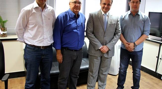 Roberto de Lucena e prefeitos municipais de SP