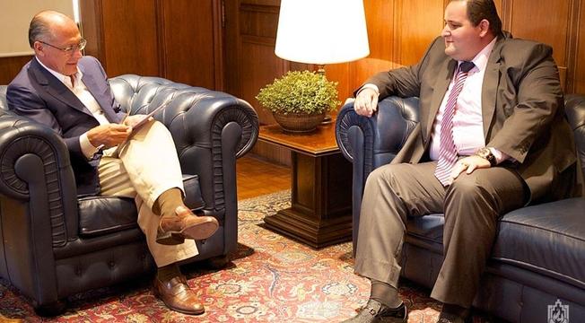Governador Geraldo Alckmin e diretoria ADSA Brasil