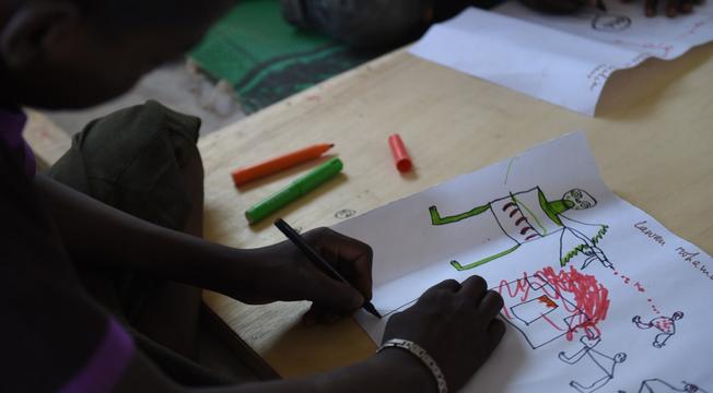 Desenhos de crianças nigerianas 4