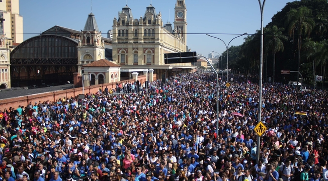 Multidão na Marcha para Jesus