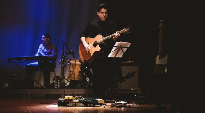 Show de lançamento do novo CD de Marcela Tais em São Paulo