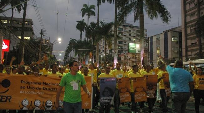 Caminhada do Movimento Viver