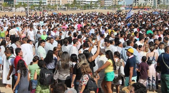 Grande Batismo - AD Ceará