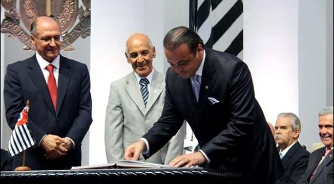 Lucena posse Alckmin