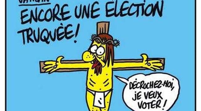 Charlie Hebdo Capa Jesus
