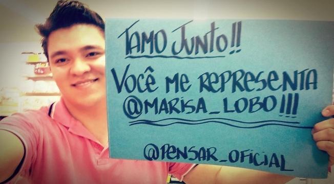 Apoio a Marisa Lobo