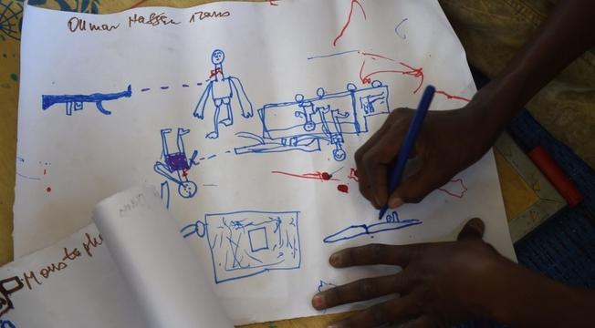 Desenhos de crianças nigerianas 3