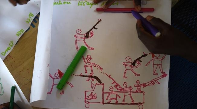 Desenhos de crianças nigerianas 2