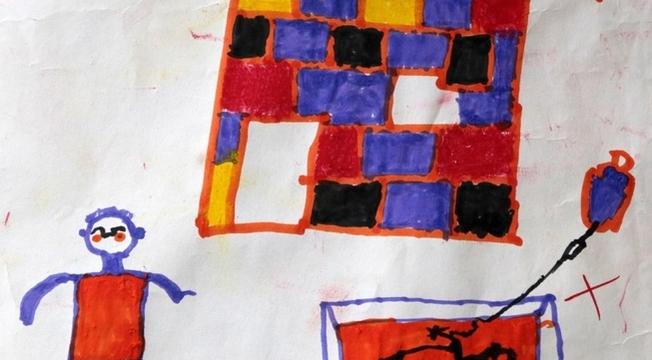 Desenhos de crianças nigerianas 7