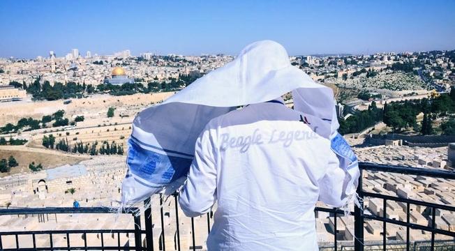 Joel Engel em Jerusalém