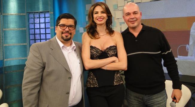 Pastor Bruno dos Santos, Luciana Gimenez e Padre Beto