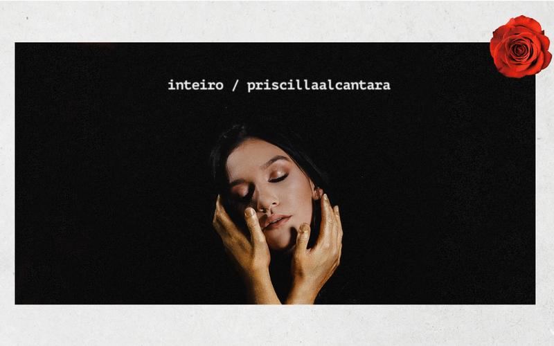 """Priscilla Alcantara divulga o single """"Inteiro"""". (Foto: Reprodução/YouTube)."""