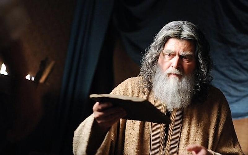 """Cena da série """"José do Egito"""" mostra Jacó. (Imagem: Rede Record)"""
