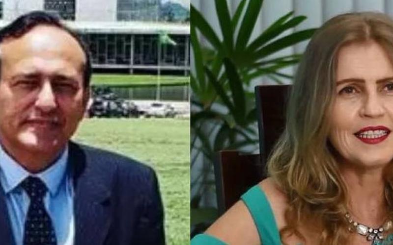 Veronica Brendler e Edilásio Barra. (Foto: Reprodução/Omelete)