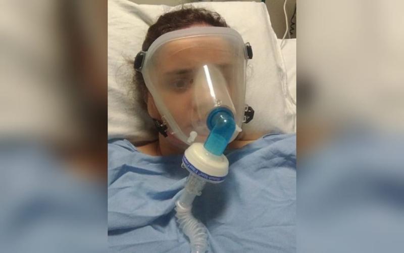 Magda passou 19 dias na UTI com Covid-19, mas foi curada por Deus.  (Foto: INCC).