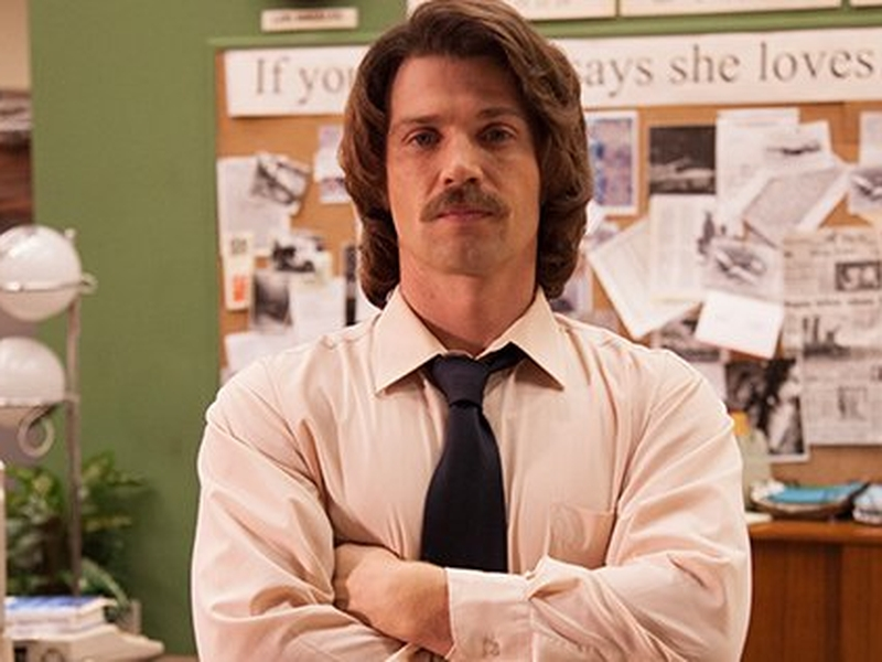 """O ator Mike Vogel interpreta o personagem de Lee Strobel no filme """"Em Defesa de Cristo"""". (Imagem: PureFlix)"""