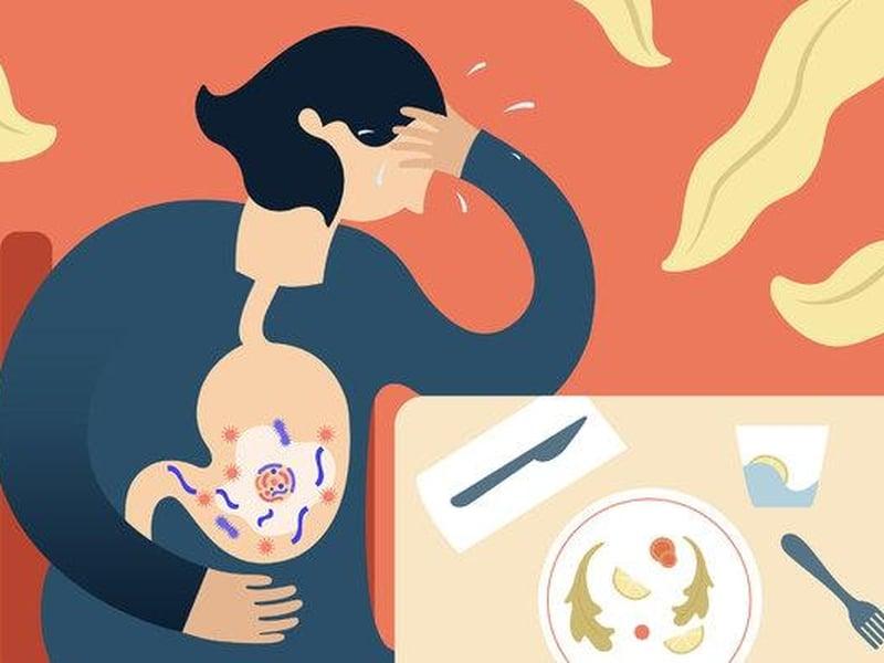 Intoxicação alimentar é causada pela ingestão de alimentos com organismos prejudiciais. (Foto: Chiara Zarmati)