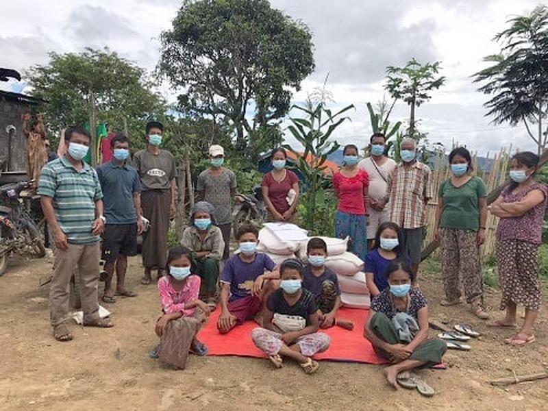 Só na Ásia, 190 mil cristãos perseguidos foram assistidos com kits de alimentação e higiene. (Foto: Portas Abertas)