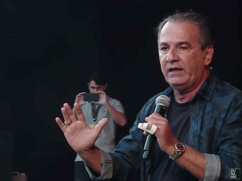 O pastor Silas Malafaia ministrou no The Send Brasil. (Foto: The Send)