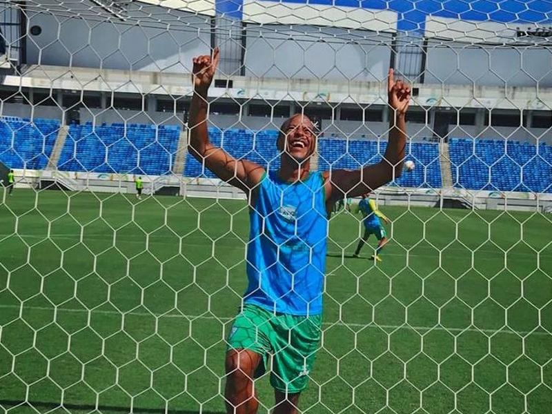 André Neles atuou no Alecrim Futebol Clube com sede em Natal, no Rio Grande do Norte. (Foto: Reprodução/Arquivo Pessoal)