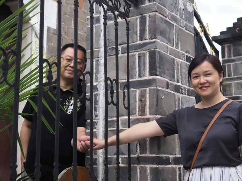 Pastor Wang Yi e sua esposa Jiang Rong, que foram presos em dezembro de 2018. (Foto: Reprodução/Facebook)