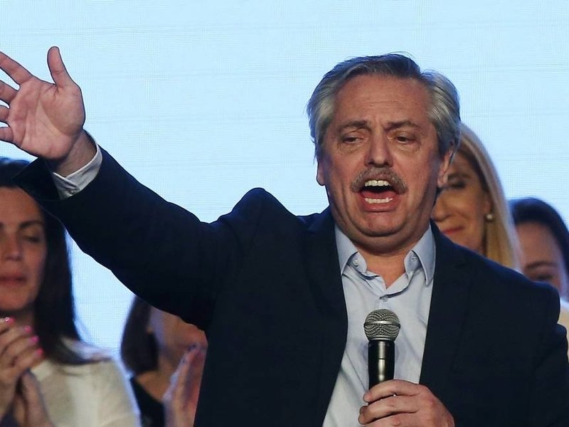 O presidente eleito da Argentina, Alberto Fernández. (Foto: Agustin Marcarian/Reuters)