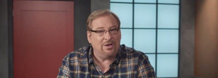 O pastor Rick Warren se tornou um perito na perda de peso.