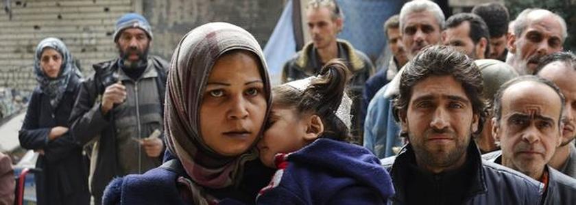 Campo de refugiados em Yarmouk